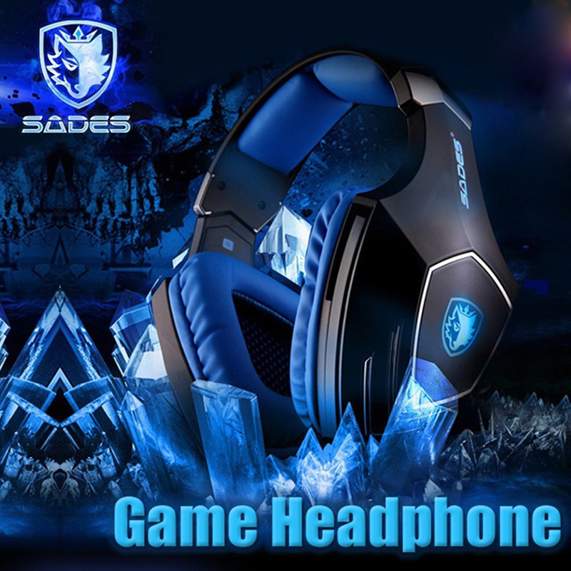 Sades A60 Gaming Headphones 7.1 USB Stereo Surround Sound Fone De Ouvido Game Headset LED Earphones with Mic for PC Casque Gamer intername vera gerasimova houses apartments dressing of an interior
