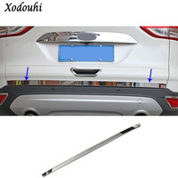For Ford Kuga 2013 2014 2015 2016 Car Styling Stainless Steel Rear Tail Door Bottom Tailgate
