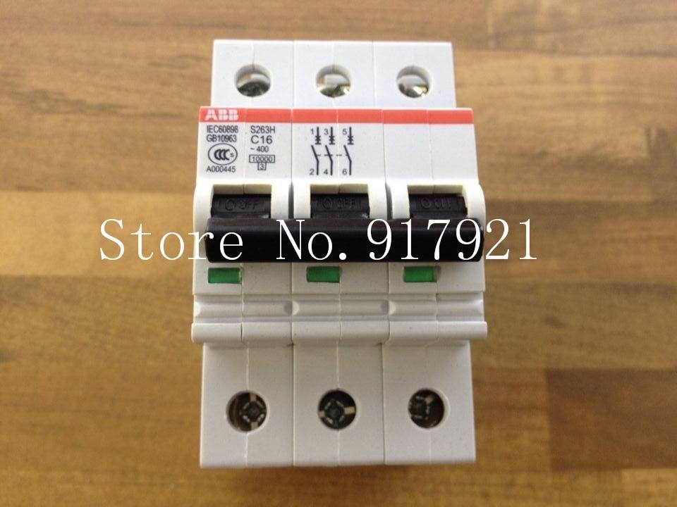 цена на [ZOB] original S263H C16 3P16A new authentic miniature circuit breaker --5pcs/lot