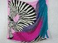 [25% OFF] 204017 5 cores Elegante envoltório das Mulheres de seda Pura grande Lenço De Seda Quadrado, 100% quadrado De Seda lenços de seda de alta qualidade