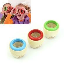 New Educational Magic Kaleidoscope Baby Kids Learning Puzzle Toy Children Wooden