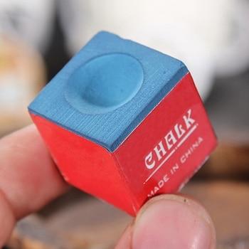 Billiards Cue - Blue Chalk  1