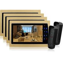 Homefong 10 Inch LCD Night Vision Home Video Door Phone Camera Intercom Doorphone Doorbell System CMOS camera HD 1200tvl 2V4