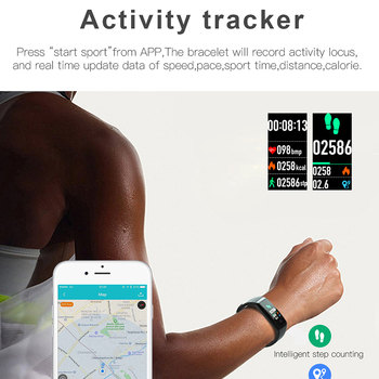 Newest Fashion Smart Bracelet Sport Band Man Fitness Tracker Heart Rate Monitor Watches BT Smartwatch Women for Android IOS
