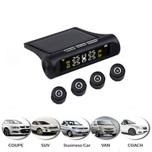 4 датчика Автомобильный датчик давления в шинах TPMS цифровой дисплей Авто тестер давления в шинах Предупреждение об утечке система контроля давления в шинах