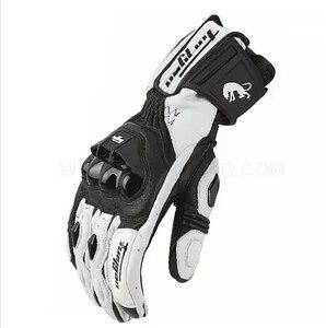 Image 2 - Gants de moto en cuir véritable, pour course de course, nouveau modèle AFS18, offres spéciales, livraison gratuite