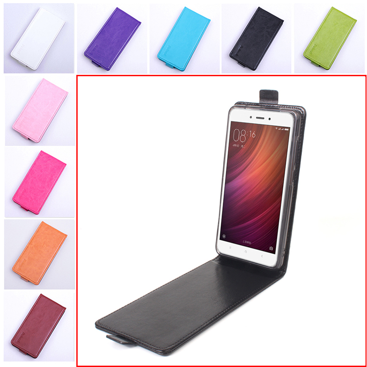 Phone Case for Xiaomi Redmi Note 4 Vertical Back Cover Leather Case for Xiaomi Redmi Note 4 Pro Prime Flip Cover Case