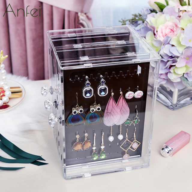 Earrings Box Earrings Display Acrylic Jewelry Display Box Earrings