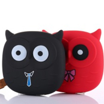 New Cute Owl Cartoon Mobile Power Bank Charger External Battery 12000mAh Dual USB for Cellphone Smartphone