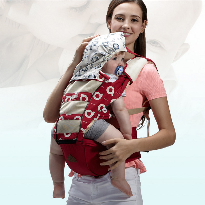 Ergonomic baby carrier for 3-36 months Infant 360 kangaroo cotton babe backpack toddler sling buckle mesh wrap suspenders baby backpack carrier new ergonomic baby sling breathable multifunctional front facing kangaroo baby bag 0 36 months infant wrap