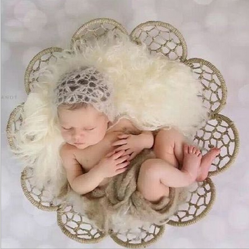 2017 New Newborn Posing Blanket Baby Shoot Studio Props Baby Poses Outdoor Newborn Photography Bucket at Sunset profesional bebe