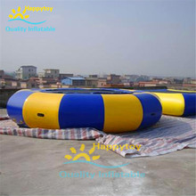 Commercial used inflatable PVC water floating Aqua jump inflatable water trampoline for sale(China)
