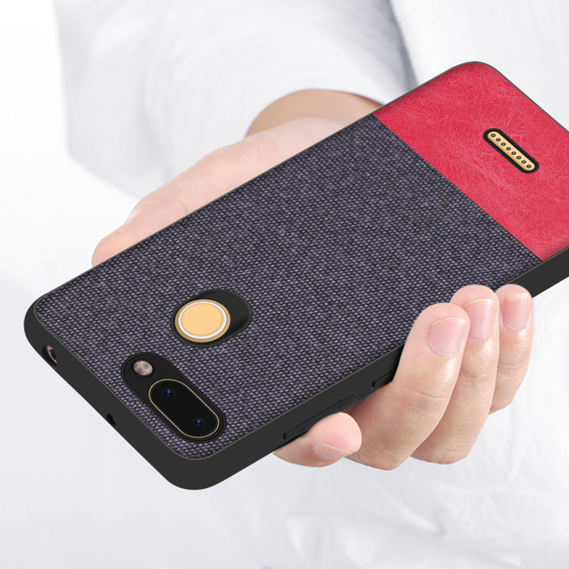 SRHE For Xiaomi Redmi 6 Pro Case Cover For Redmi 6 Vintage Cloth Fabric Soft Silicone Full Back Cover For Redmi 6 Pro Redmi6 in Fitted Cases from Cellphones Telecommunications