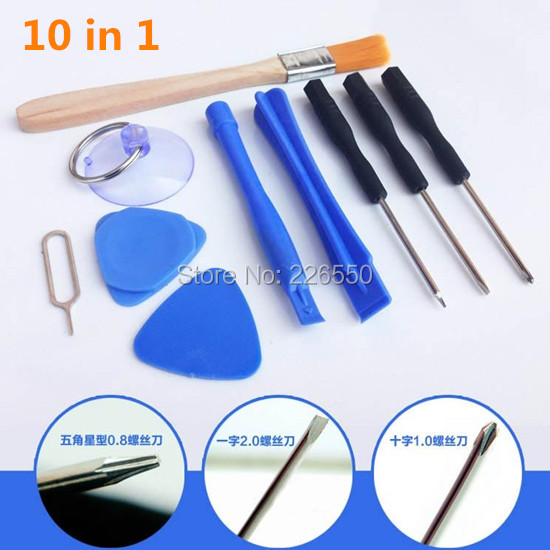 200set 2000pcs 10 in 1 Professional Opening Pry Tools Disassembly mobile phone Repair tool Kit Set