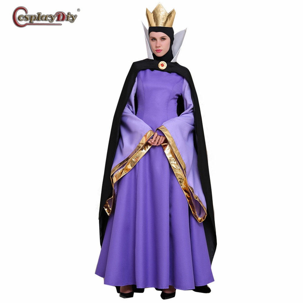 HALLOWEEN//FAIRY TALE//EVIL STEP-MOTHER MALEFICENT COSTUME All Ladies Sizes