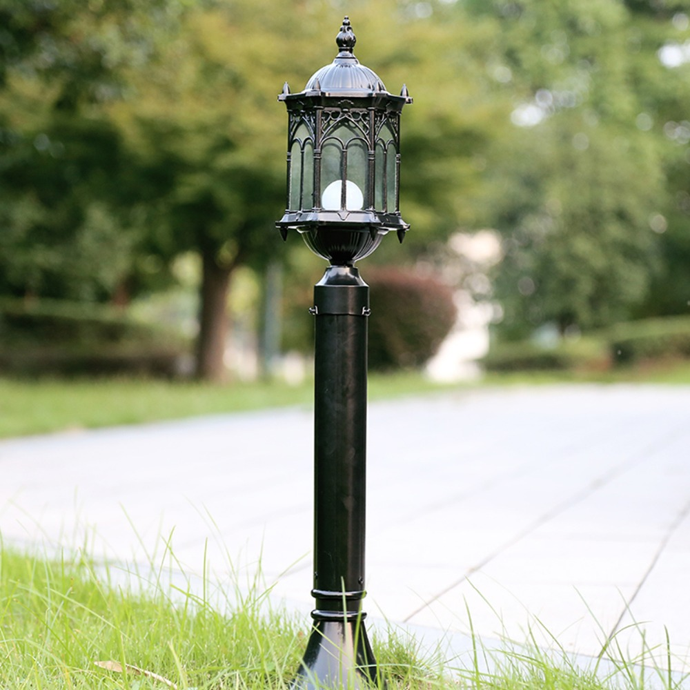 Ouderwetse Tuin Verlichting Us 181 98 Homestia Antieke Ouderwetse Gazon Lamp Landschap Charmant Traditionele Exterieur Lamp Gazon Licht Vintage Path Licht Post Lichten In