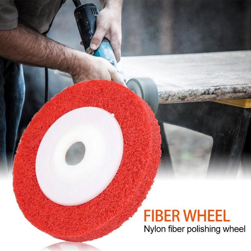 New Nylon Wool Polishing Wheel Non-woven Abrasive Wheel Metal Grinding Disc Non Woven Abrasive Wheel Polish Tool