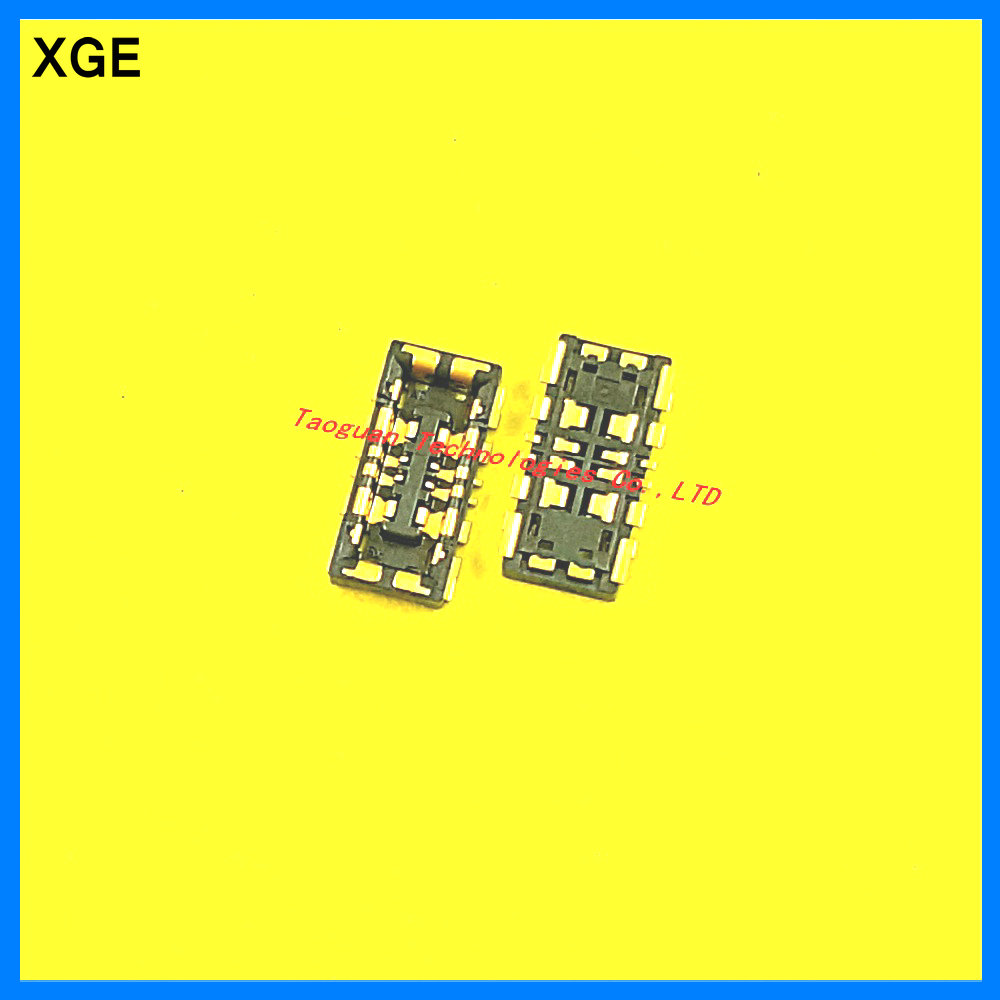 XGE New Inner Battery Connector Holder Clip Contact for Huawei G9 P9 P10 plus / Xiaomi Redmi Pro/ note 3 4 /Redmi 3 on mainboard