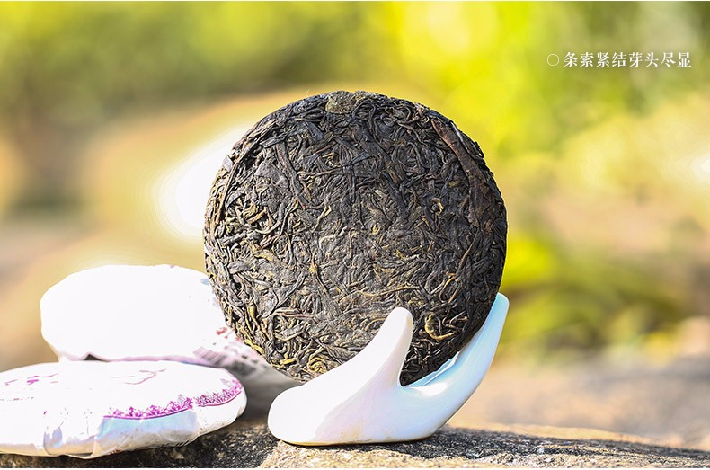 фиолетовый чай пуэр фото