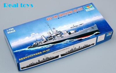 Trumpeter 05731 1 700 USS The Sullivans DD 537 Assembly Model kits