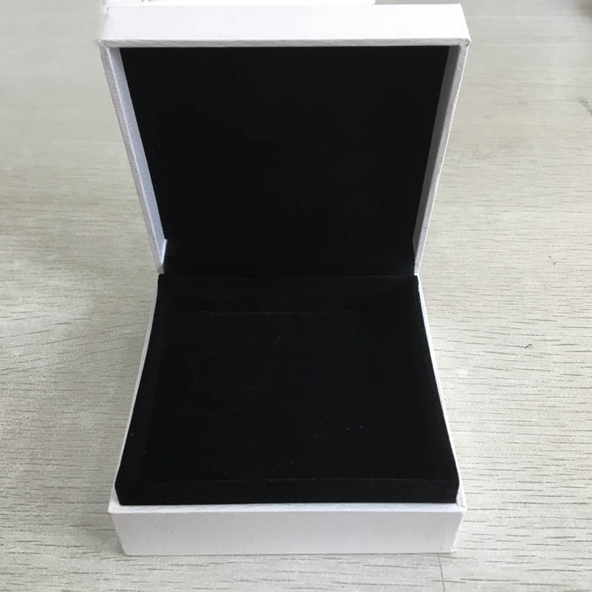 9*9*4 cm Packaging Paper Box Bracelet Jewelry Display Ring Bracelet Earrings Gift Velvet Box Compatible with DIY Pandora Jewelry