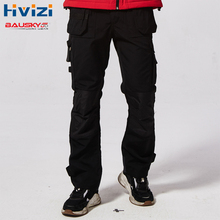 Mens Workwear Clothes Working Pants Multi-pockets Tool Trouser Work Trousers Wen Cargos B131