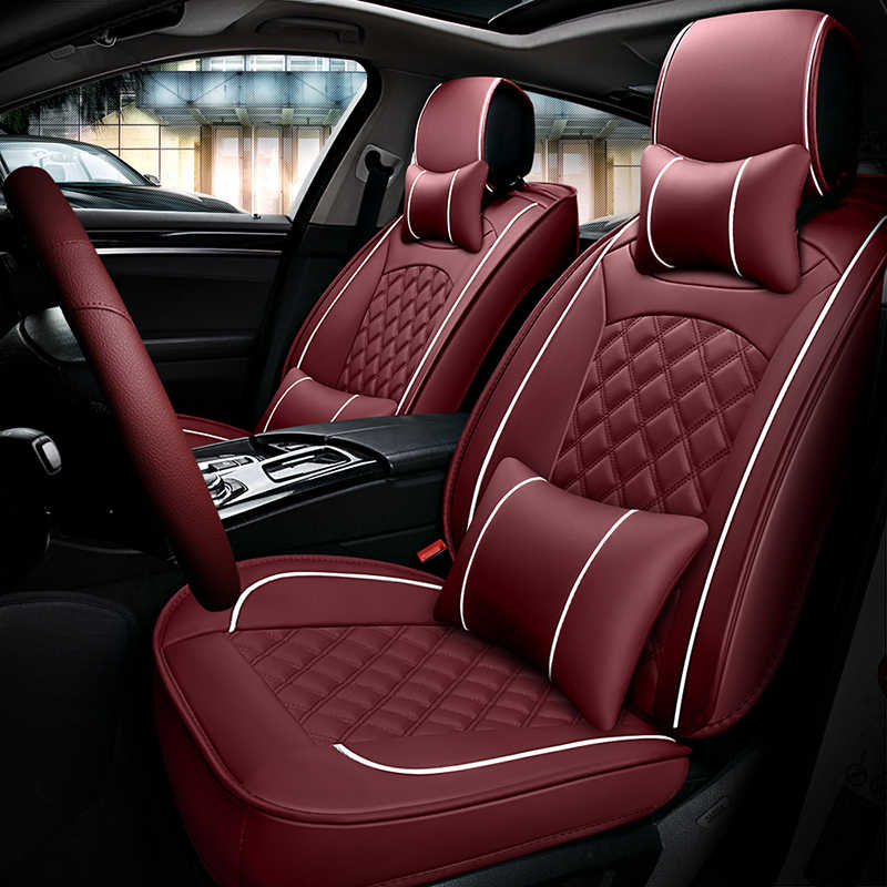 Enjoyable Front Rear Leather Car Seat Cover For Toyota Pruis Hilux Fj Cruiser Crown Yaris Lc Prado Venza Zelas Vios Auris Matrix Corolla Gmtry Best Dining Table And Chair Ideas Images Gmtryco