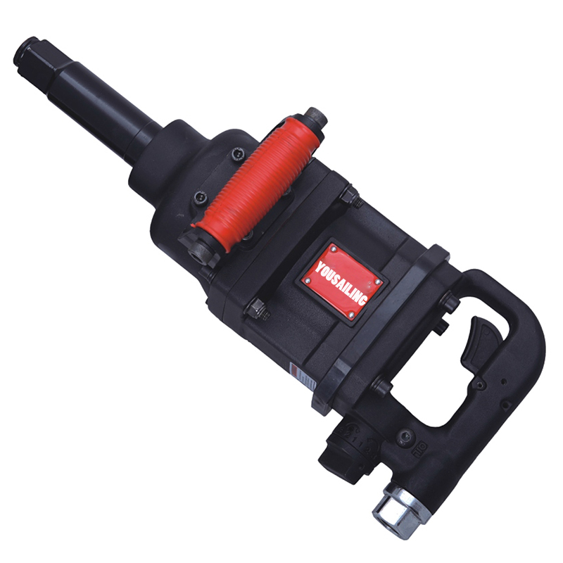 YOUSAILING Quality High Torque Industrial 1 inch Pneumatic Impact Wrench Air Imapct Wrench Tools 240KG pneumatic impact wrench 1 2 pneumatic gun air pressure wrench tool torque 650ft lb set with sleeve