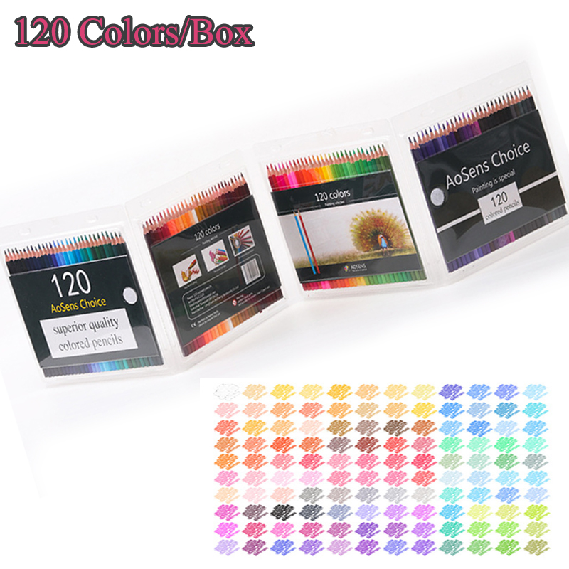 120 Colors/Box Color Pencil Set Rainbow Pastel Pencils Drawing for Student Coloring School Colored Pencils Crayon De Couleur120 Colors/Box Color Pencil Set Rainbow Pastel Pencils Drawing for Student Coloring School Colored Pencils Crayon De Couleur