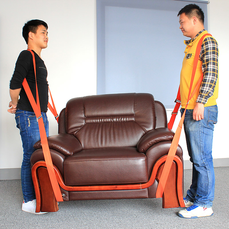 Image 3 - 4x Forearm Lifting Moving Strap Furniture Transport Belt Easier Carry Rope Cheap Price Retail Forearm Forklift Lifting Moving-in Furniture Accessories from Furniture