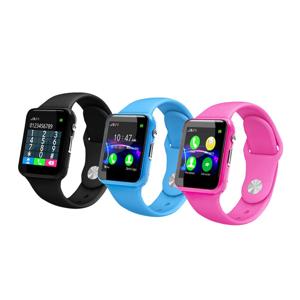 Kids GPS Locator Smart Watch ChildrenSmart Watches GPS Location Finder Locator Tracker Child Call Clock Smart Children's Watch