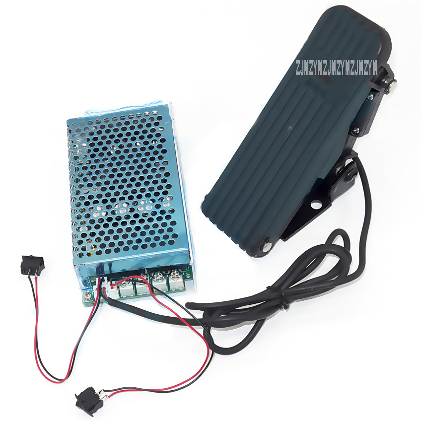 New Hot 12100-F DC 10V-50V / 0.01-5000W/ 100A Programmable Reversible DC Motor Speed Controller Governor Soft Start Foot Pedal 10 50v 100a 5000w reversible dc motor speed controller pwm control soft start high quality