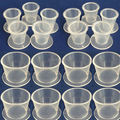 Freeshipping 100pcs/Lot Latest Pro Plastic Self-standing Tattoo Ink Pigment Cup/Cap Supplies Tattoo Ink Holder Cup/Cap