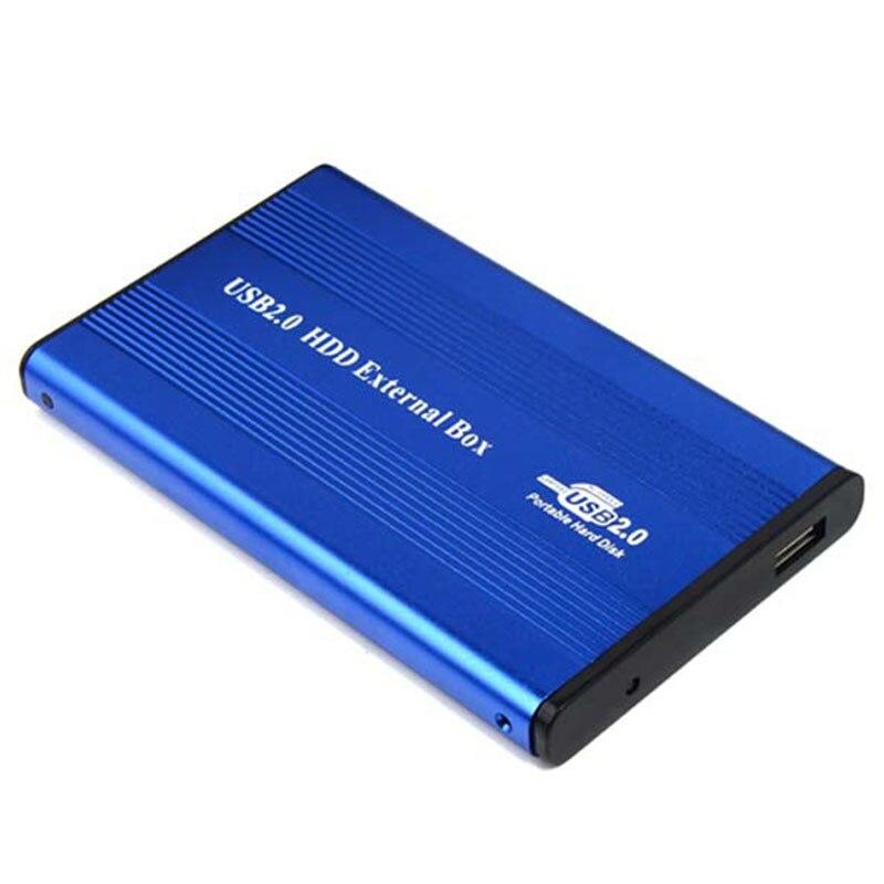 USB2.0 ハードドライブのディスクエンクロージャ HDD 外部ボックスケースキャディー 2.5