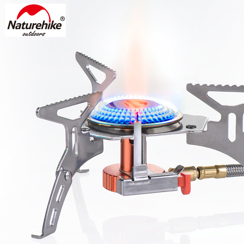 Naturehike Сплит Открытый горелка Складной многофункциональный Для Пикника Кемпинг NH15L399 T
