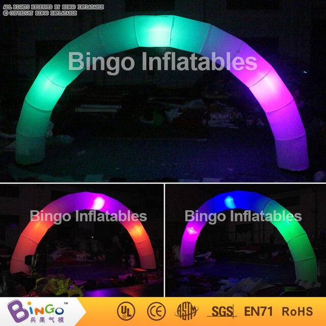 Надувные арки со светодиодной подсветкой и Встроенным воздуходувка для партии, партии надувные арки двери BG-A0788 игрушки