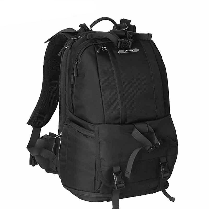 CAREELL digital slr camera bag double-shoulder digital camera bag slr bag professional anti-theft camera backpack