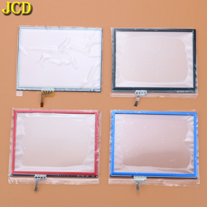 JCD 1Pcs Touch Screen Panel Display Digitizer Glass For Nintend 3DS For 3DS Console Game Replacement