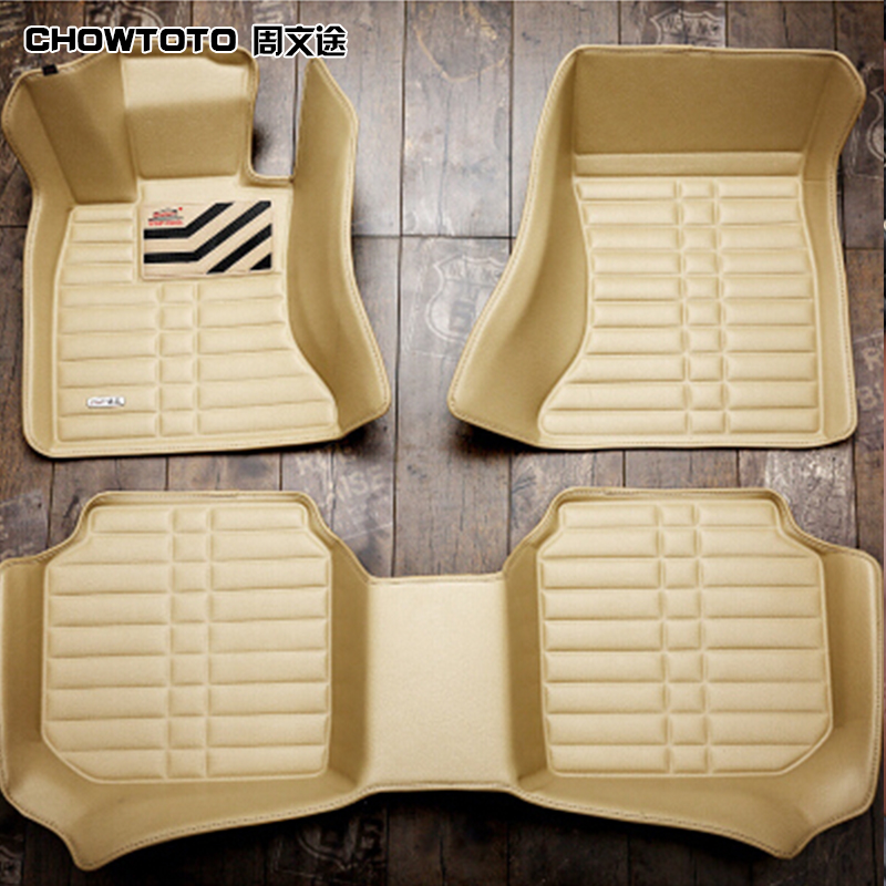 CHOWTOTO Special <font><b>Floor</b></font> Mats For <font><b>Jeep</b></font> <font><b>Grand</b></font> <font><b>Cherokee</b></font> wear-resisting Durable Leather Carpet For <font><b>Grand</b></font> <font><b>Cherokee</b></font>