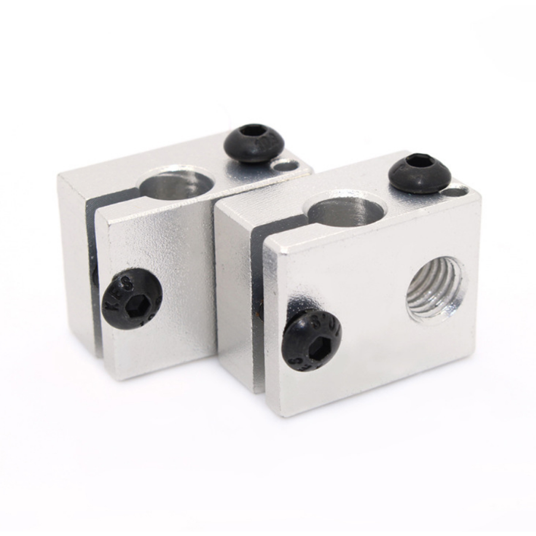 Etmakit Good Sale E3DV6 Aluminum Heater Block All-Metal E3D V6 Extruder For HotEnd 20*16*12mm For 3D Printer Parts