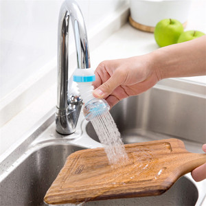 Image 4 - Kitchen faucet splash shower faucet water purifier retractable bending 360 degree rotating water spray filter