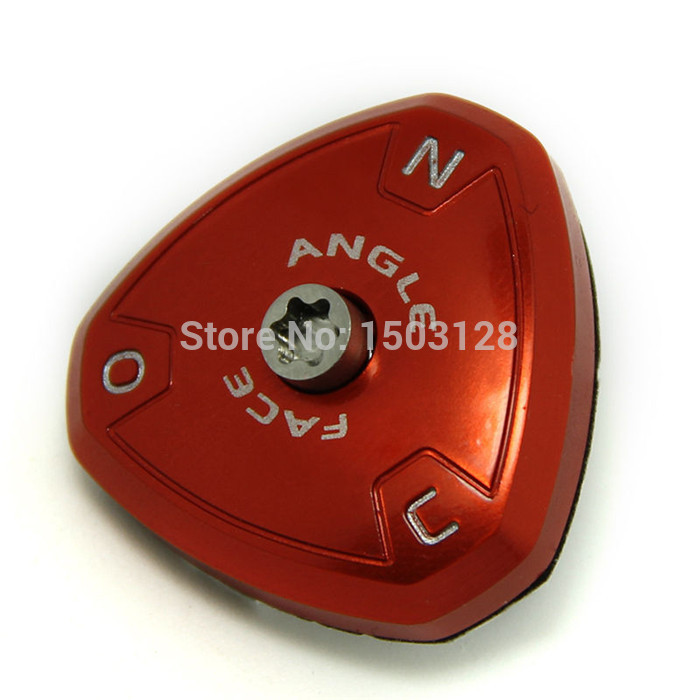 Free Shipping Brand New one 1 piece Triangle Shape Adjustable Red Sole Plate (ASP) Replacement for R11 Golf Driver