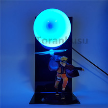 цены Naruto Action Figure Led Light Rasengan Model Toy Anime Naruto Shippuden Uzumaki Naruto Figurine Sasuke Namikaze Minato