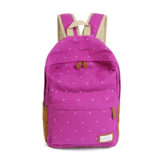 Women backpack light weight printing backpack school backpacks canvas backpack 5