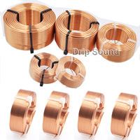 1pcs 0.8mm 3.8mH 5.4mH Audio Amplifier Speaker Crossover Inductor 4N Oxygen Free Copper Wire Coil #Copper