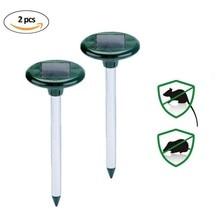 Mole Repeller Mice Repeller Animal Mole Scarers Scarecrow Moles Solar 2 հատ հատ PY