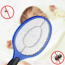 Electric Mosquito Swatter Anti Mosquito Fly Repellent Bug Insect Repeller Reject Killers Pest Reject Racket Trap Home Tool(China)