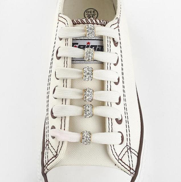 Thời trang Đầy Màu Sắc Hạt Đất Sét Rhinestone Giày Trang Trí Sáu Miếng/Lô