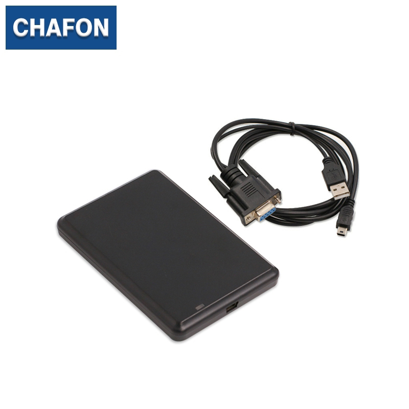 все цены на CHAFON LF rfid reader RS232 interface support EM4100 TK4100 chip card with 10 digit Hex output format for access control онлайн