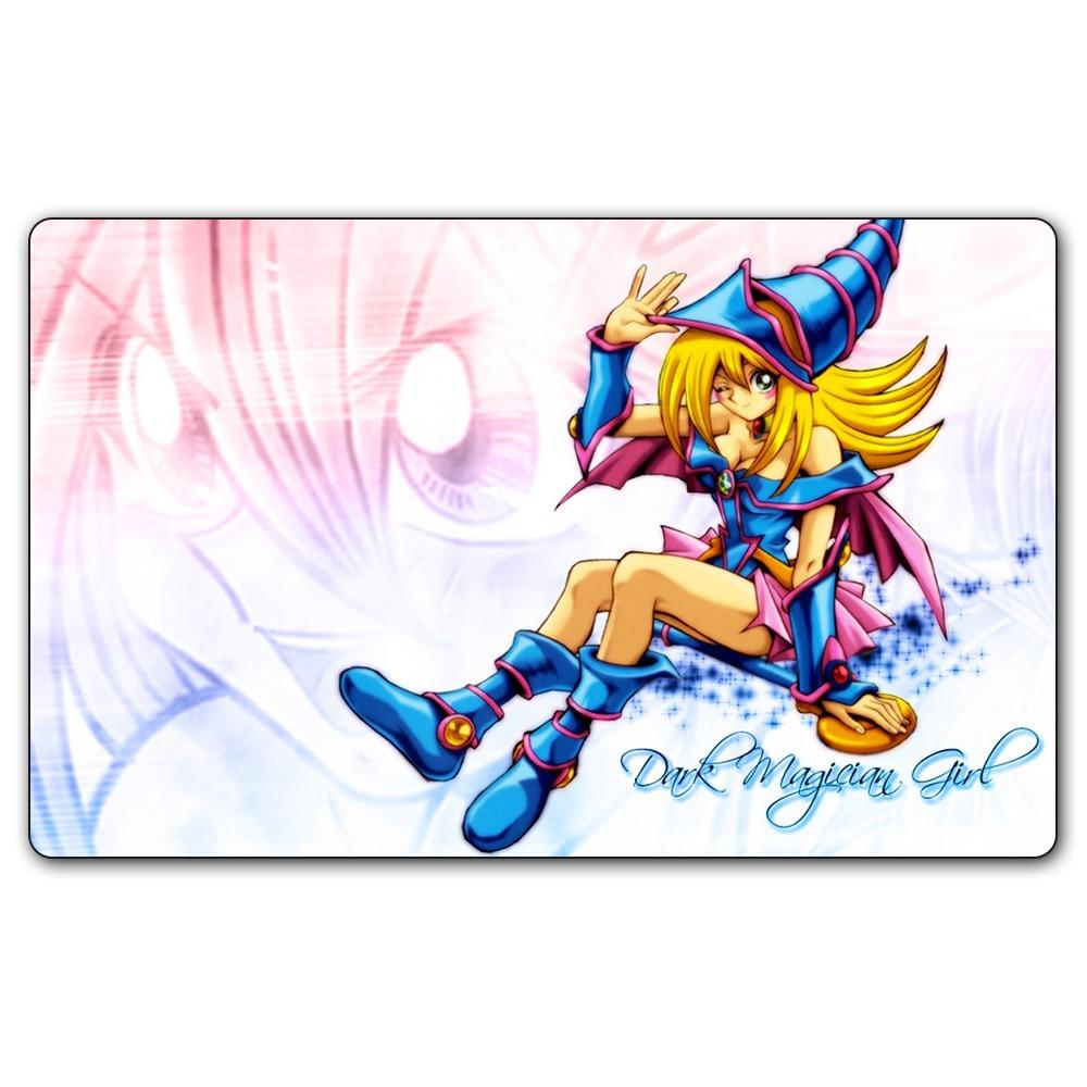 Ygo 44 Playmat 35X60Cm Yu Gi Oh Dark Magician Girl Play -7044